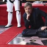 Csillagot kapott Mark Hamill a Hírességek sétányán, de Carrie Fisher nagyon hiányzott