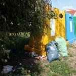Pécsen már büntetik a szelektív hulladéktárolókból kukázókat