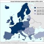 Lista: Életszínvonalban utolsók vagyunk az EU-25-ök között