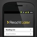 Ingyen is letölthető a Read It Later Androidra