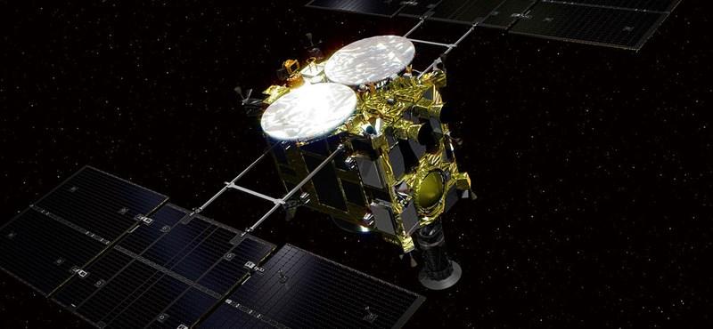 Különös képeket küld haza egy aszteroidáról a japán Hajabusza-2 űrszonda