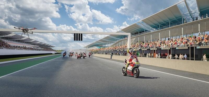 Látványterveken a hajdunánási MotoGP pálya