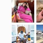 Kétezer dollárt kell fizetniük a milliárdoscsemetéknek, ha szerepelnének az egyik híres Instagram-oldalon