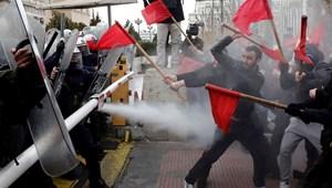 Nap képei: költségvetési megszorítások miatt tüntetnek a görög tanárok