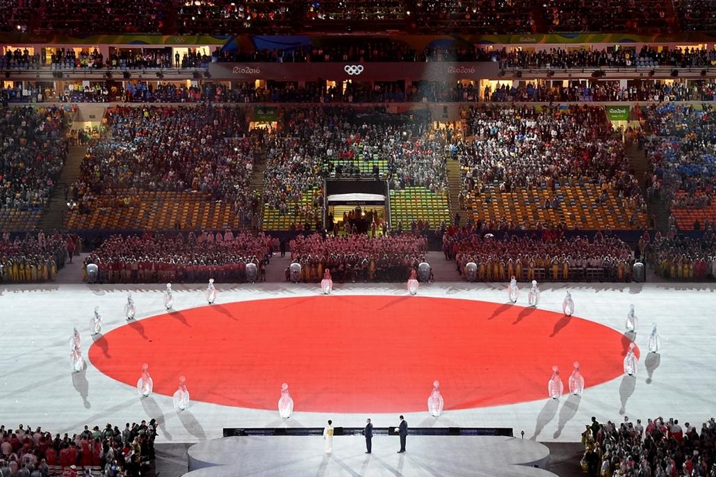 afp.16.08.22. - Záróünnepség - olimpia, riói olimpia 2016, olimpia 2016