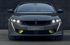 Egy váratlan hibrid sport Peugeot támad az M3-as BMW-re