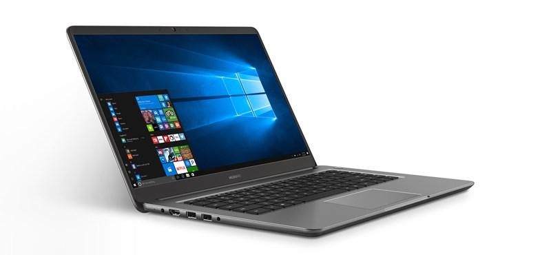 Megjött az új laptopgyártó: Magyarországon is kaphatók lesznek a Huawei notebookjai