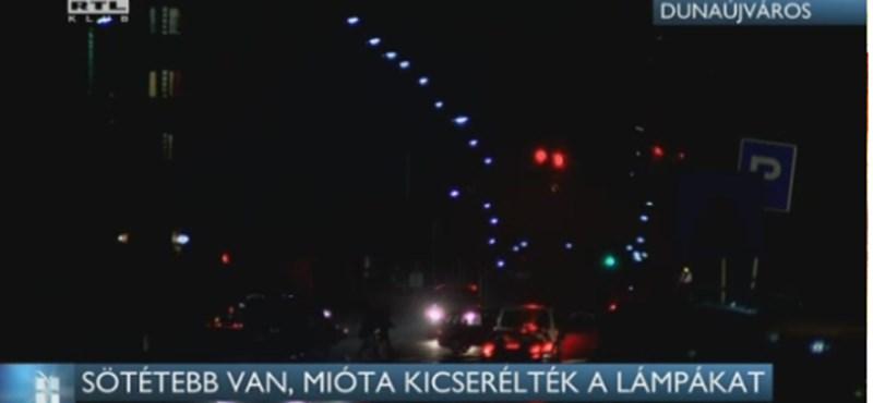 Nyomoz a NAV és az ügyészség a dunaújvárosi lámpamutyi miatt