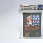 27 millió forintért kelt el egy érintetlen Super Mario-játék