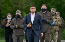 Az ukrán elnök egy év alatt humoristából politikus lett