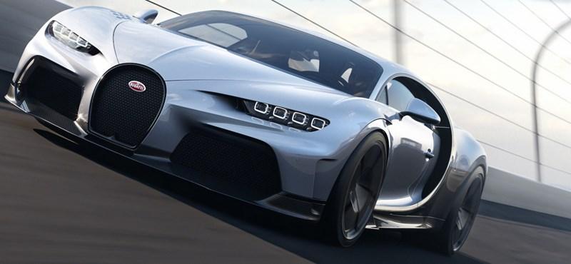 5,8 másodperc alatt 0-ról 200-ra – ezt tudja a legújabb Bugatti