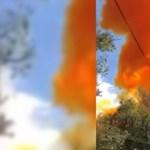 Visszahullott a Földre egy kínai rakétadarab, a becsapódás után mérgező füst áradt ki belőle