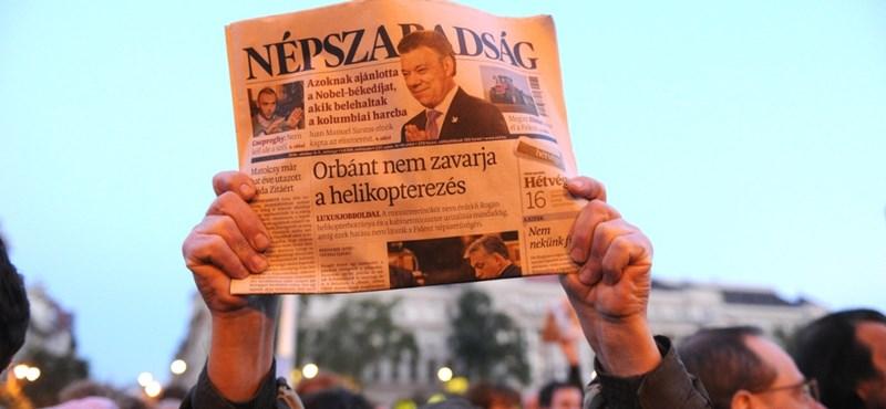 Seres: A Népszabadság és a fánkok helyzete a mai Magyarországon