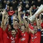 Történelmet írt a Sevilla az EL döntőjében